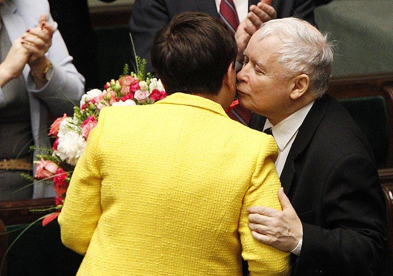 Beata Szydlo, Jaroslaw Kaczysnski