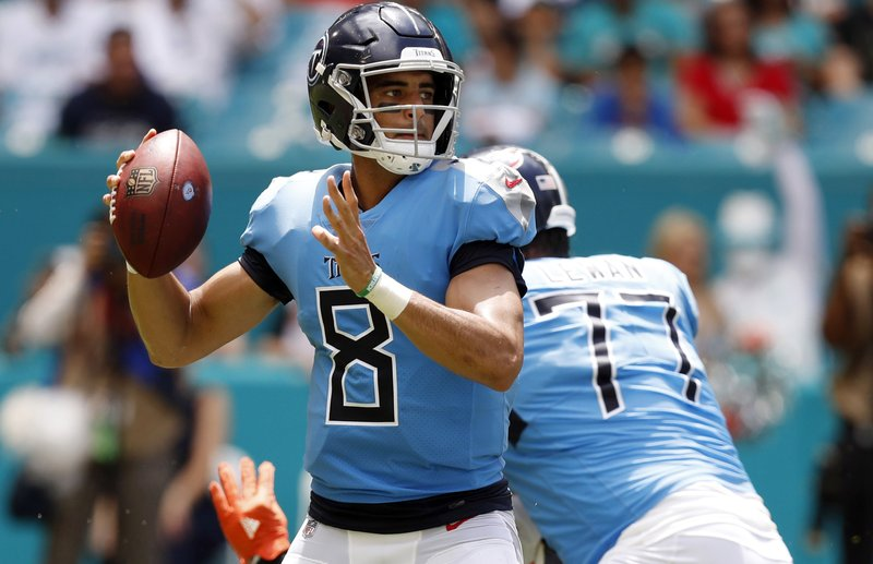 cheaper b2da7 d2a7e Titans' Mariota still dealing with weakness in throwing hand