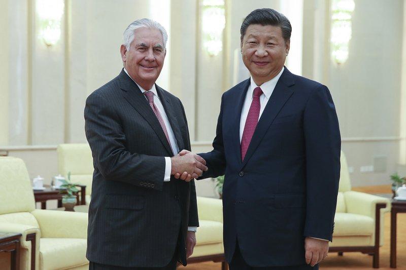 Rex Tillerson, Xi Jinping