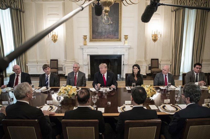 Donald Trump, Nikki Haley, Rex Tillerson, H.R. McMaster, assily Nebenzia, Jonathan Allen
