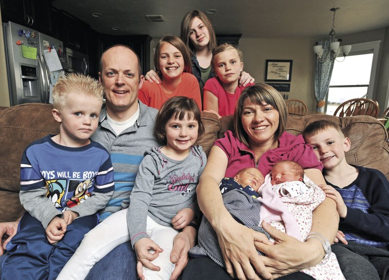 Pocatello mother births second set of twins