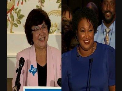 Georgia, Texas Democrats Nominate Women For Gov.