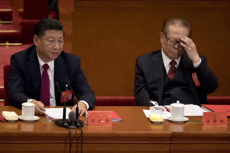 Xi Jinping, Jiang Zemin