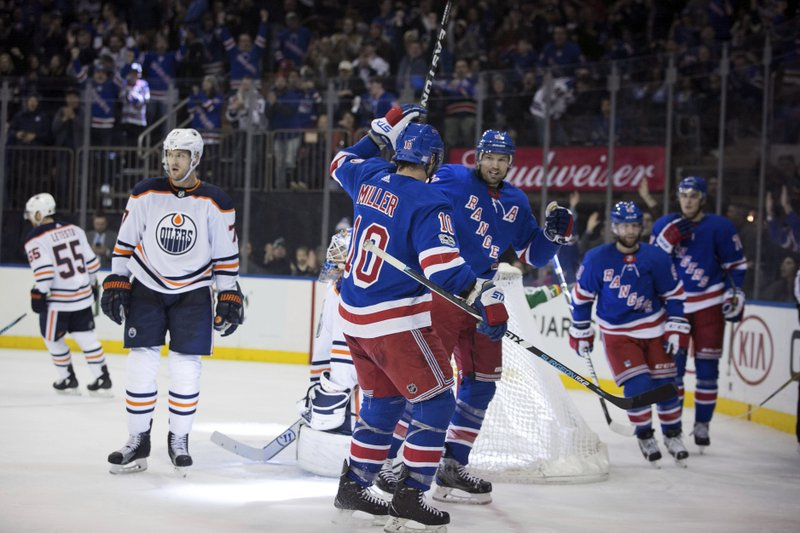 Edmonton Oilers New York Rangers
