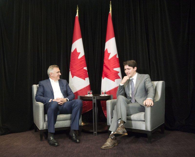 Justin Trudeau, Robert Bradway