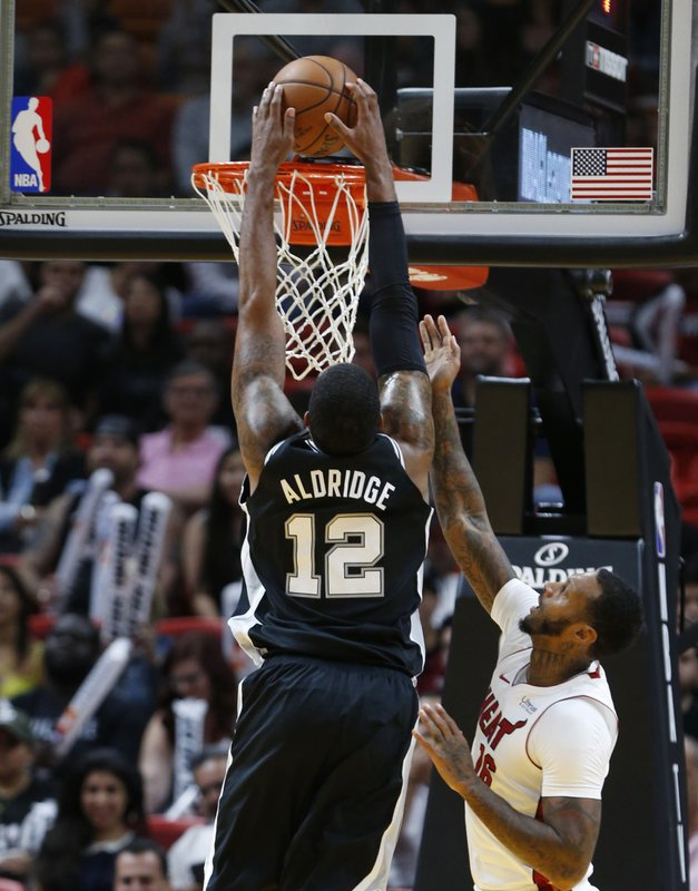 James Johnson, LaMarcus Aldridge