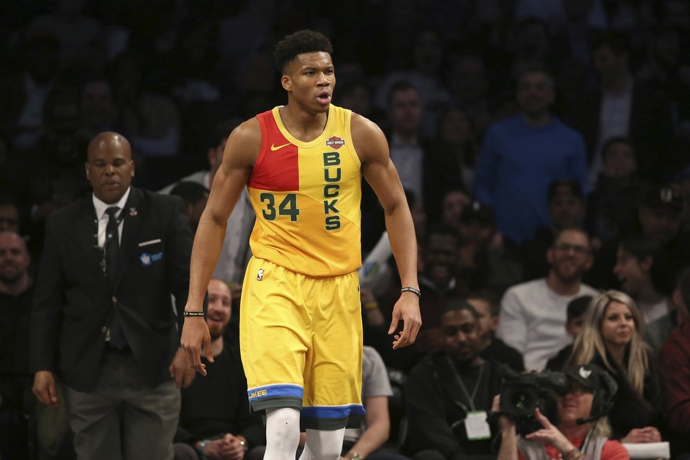 NEW YORK (AP) — Giannis Antetokounmpo forgot for a moment that Milwaukee  had reduced its magic number to one for clinching the NBA s best record. 1c9f3f7a2