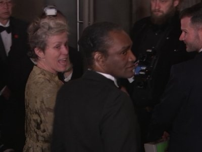 Alleged Oscar thief entered party next to McDormand