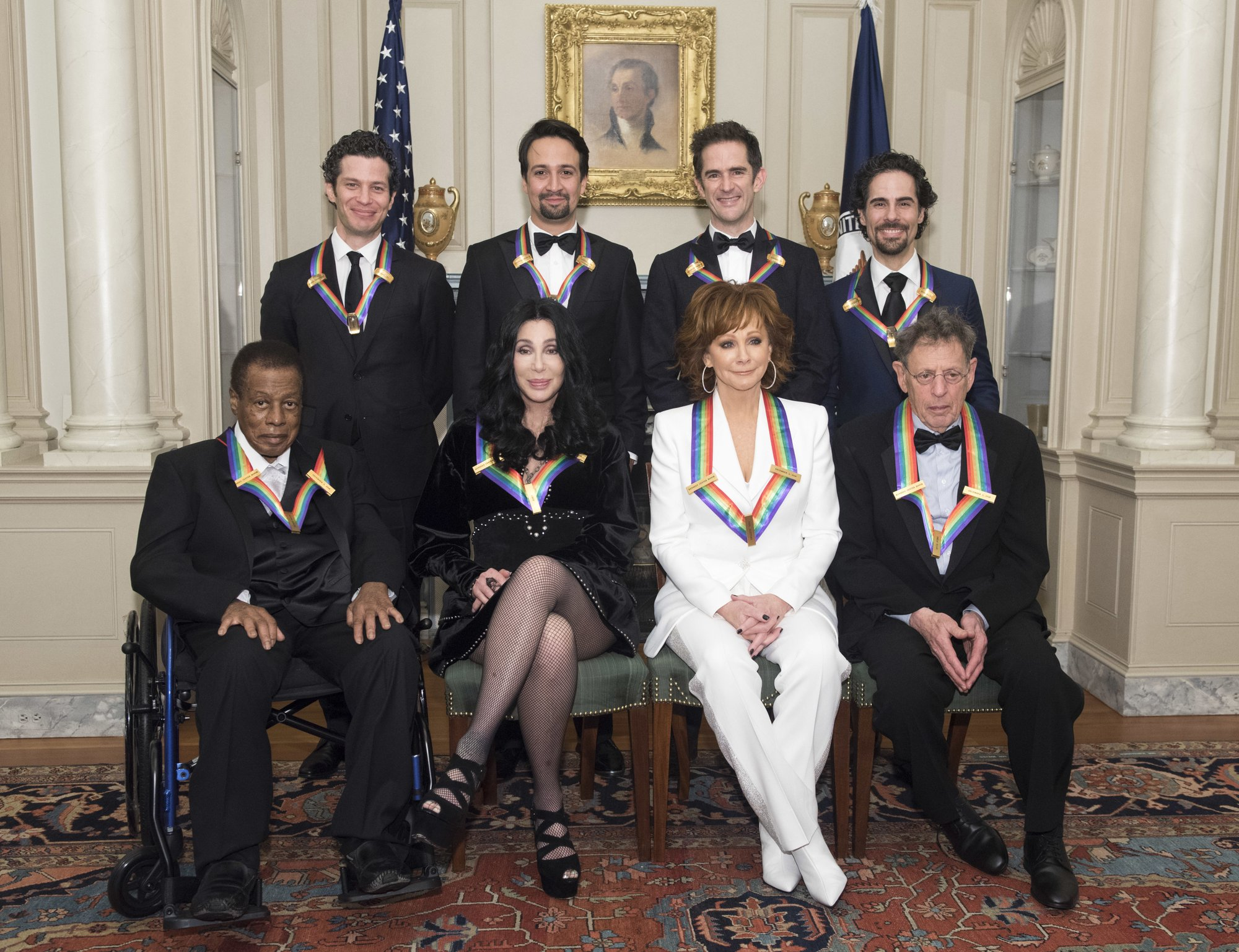 Bush gets tributes at Kennedy Center Honors program