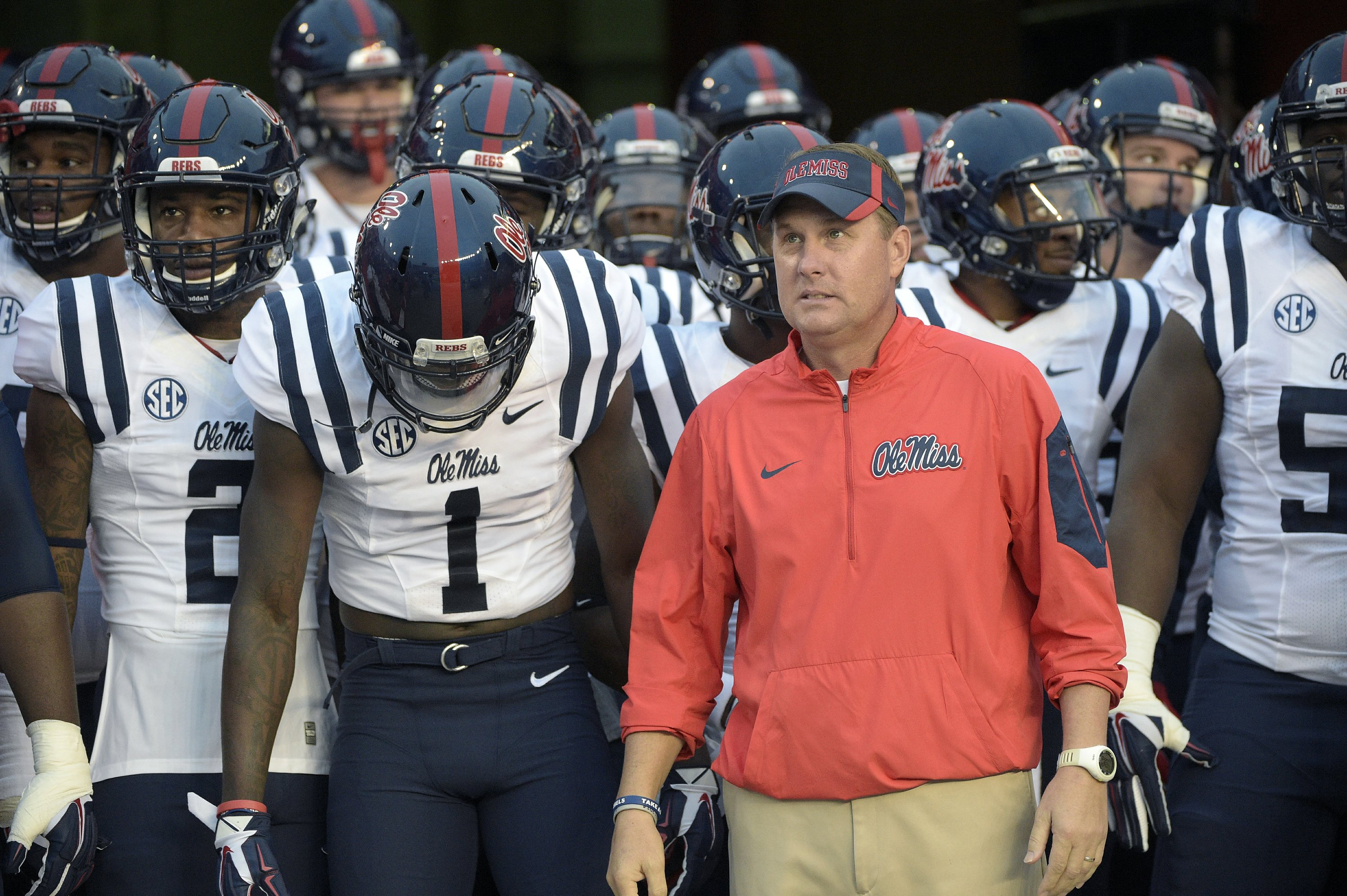 Freeze resigns as Ole Miss football coach after 5 seasons