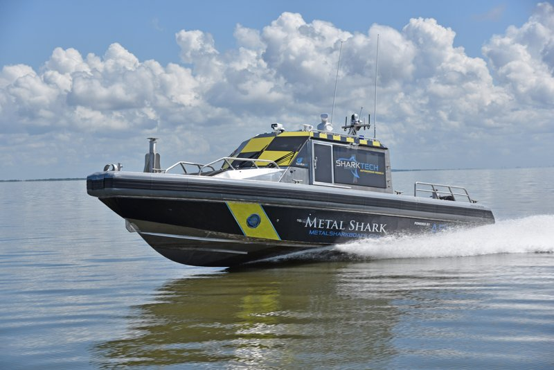 Metal Shark and ASV Global Introduce Sharktech Autonomous Vessels