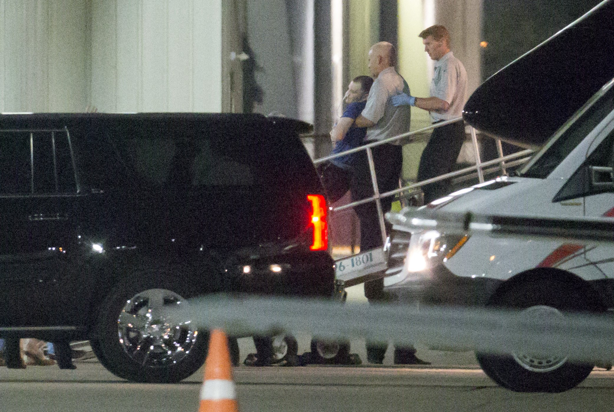 US college student released by North Korea arrives in Ohio