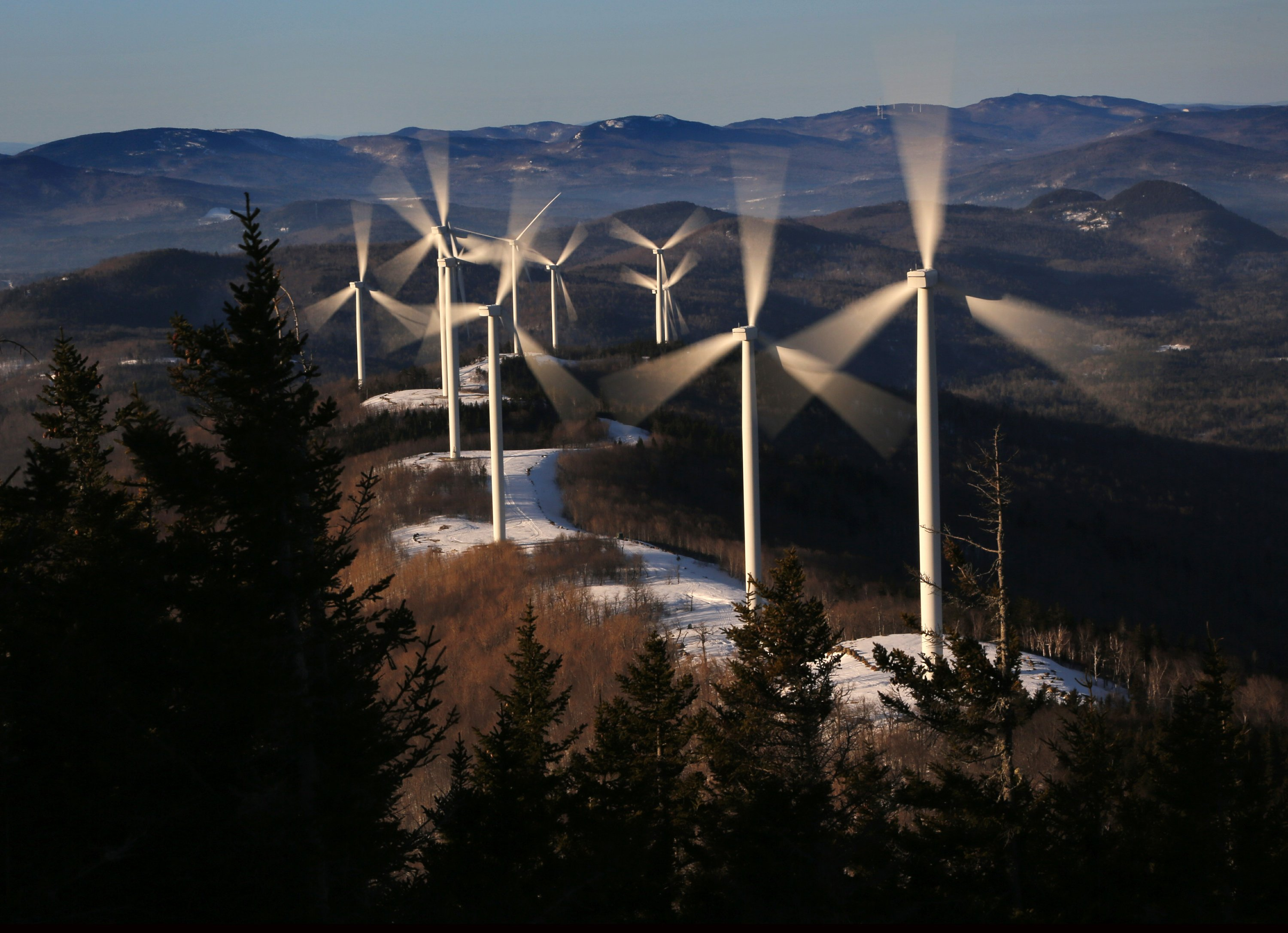 Democrat-controlled statehouses endorsing clean energy