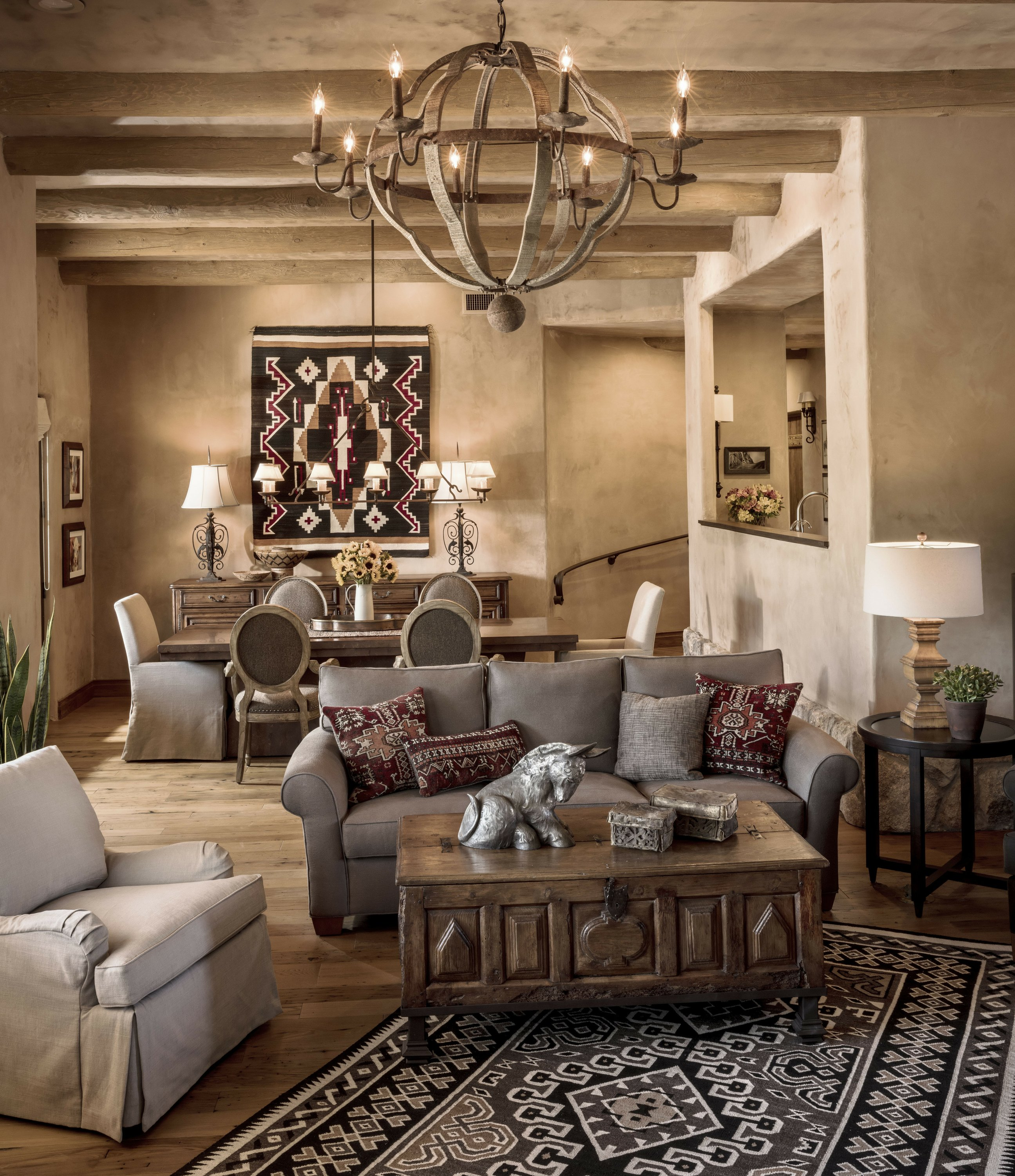 Warm and casual Southwest style is hot in decor