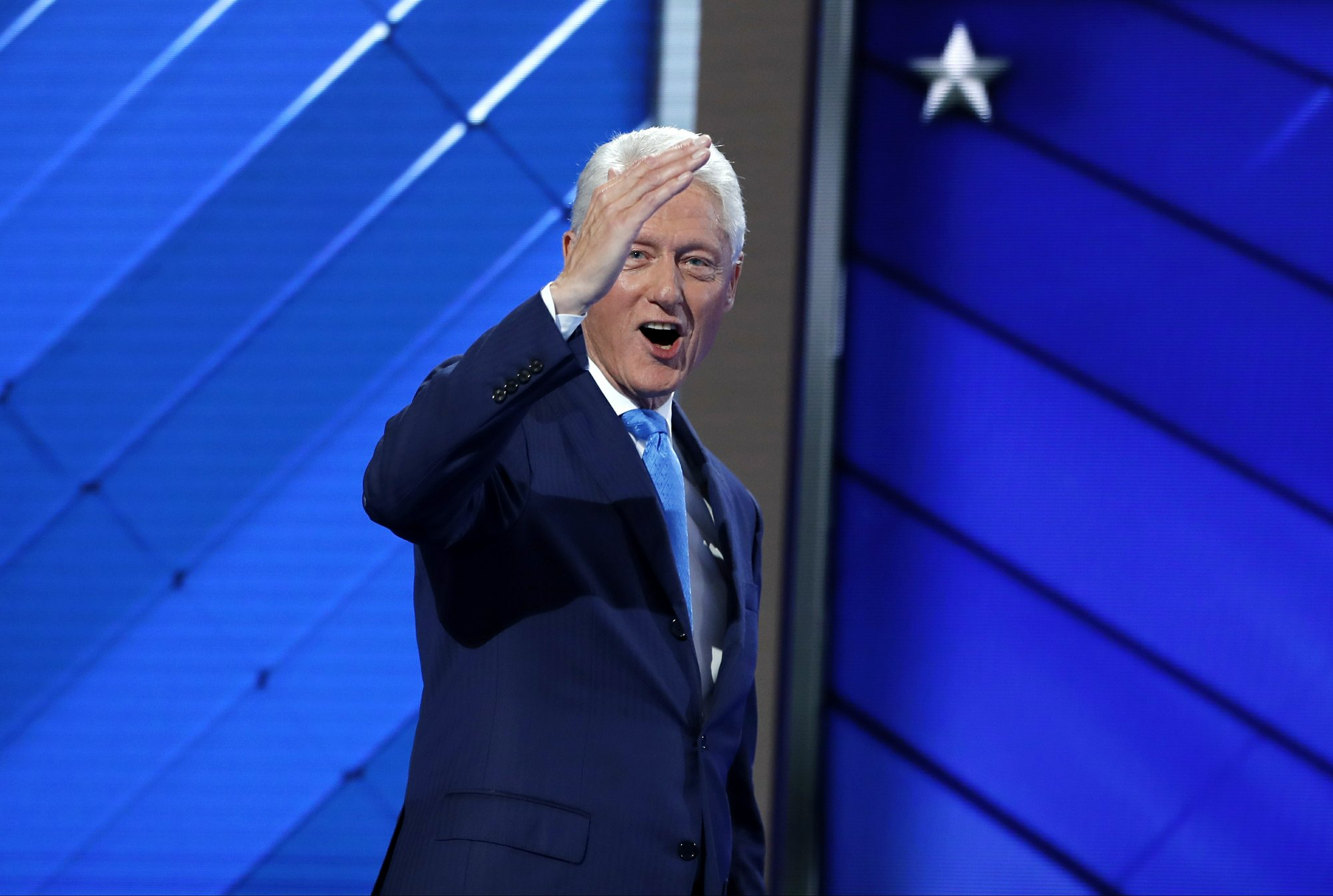 Bill Clinton Tells the Story of His Meet-Cute With Hillary Clinton at the DNC
