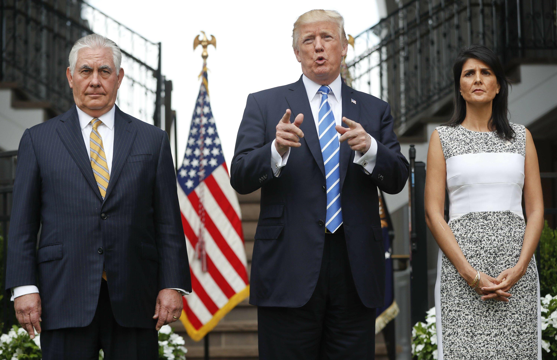 Trump says he's considering military response to Venezuela