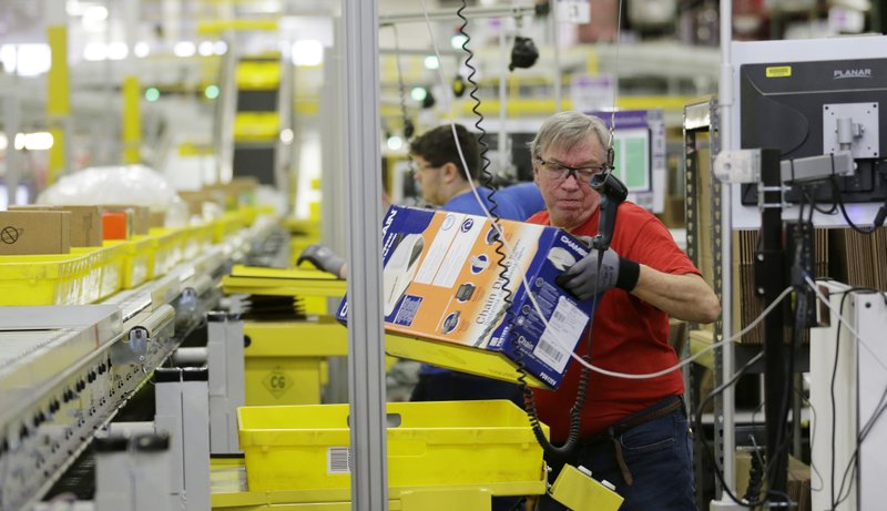 Amazon looks to fill over 50000 jobs in one day