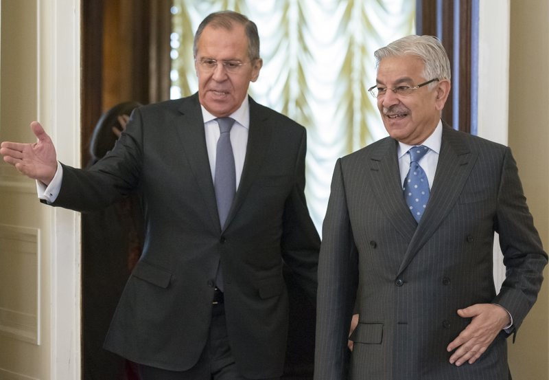 Sergey Lavrov, Khawaja Muhammad Asif