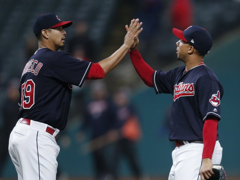 Carlos Carrasco, Michael Brantley