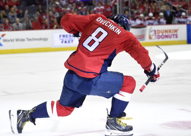 3f47ab8f197 Ovechkin gets historic hat trick