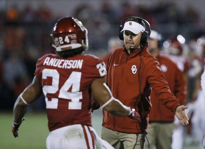 Lincoln Riley, Rodney Anderson