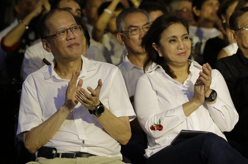 Benigno Aquino III, Leni Robredo