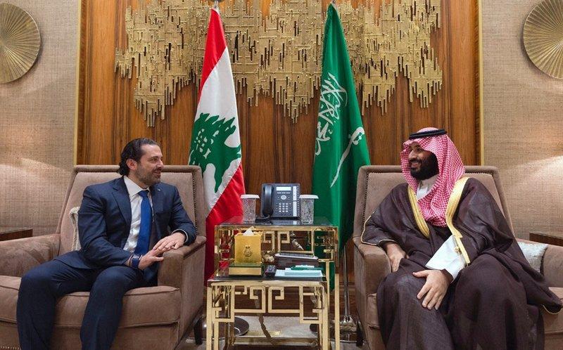 Mohammed bin Salman, Saad Hariri