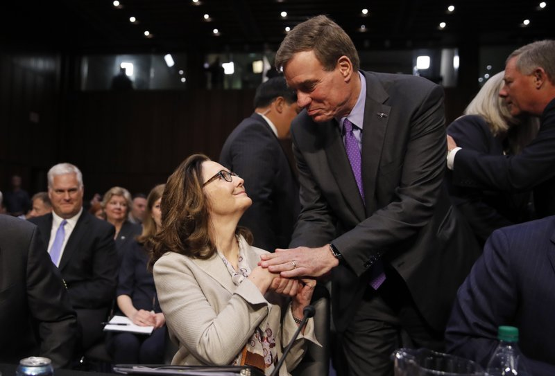 Gina Haspel, Mark Warner