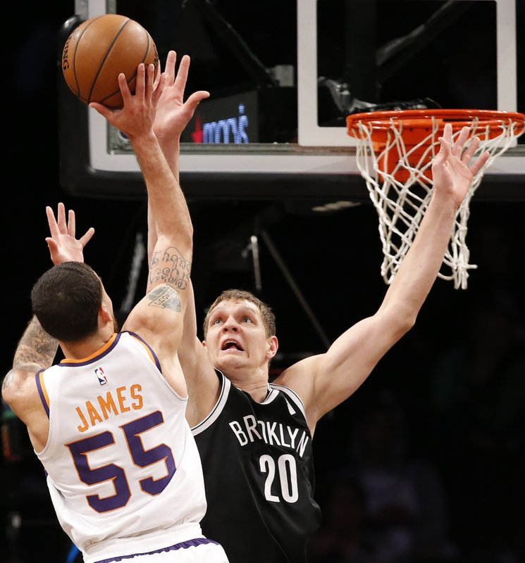 Mike James, Timofey Mozgov