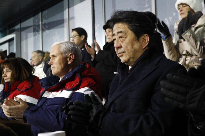 Shinzo Abe, Mike Pence Karen Pence