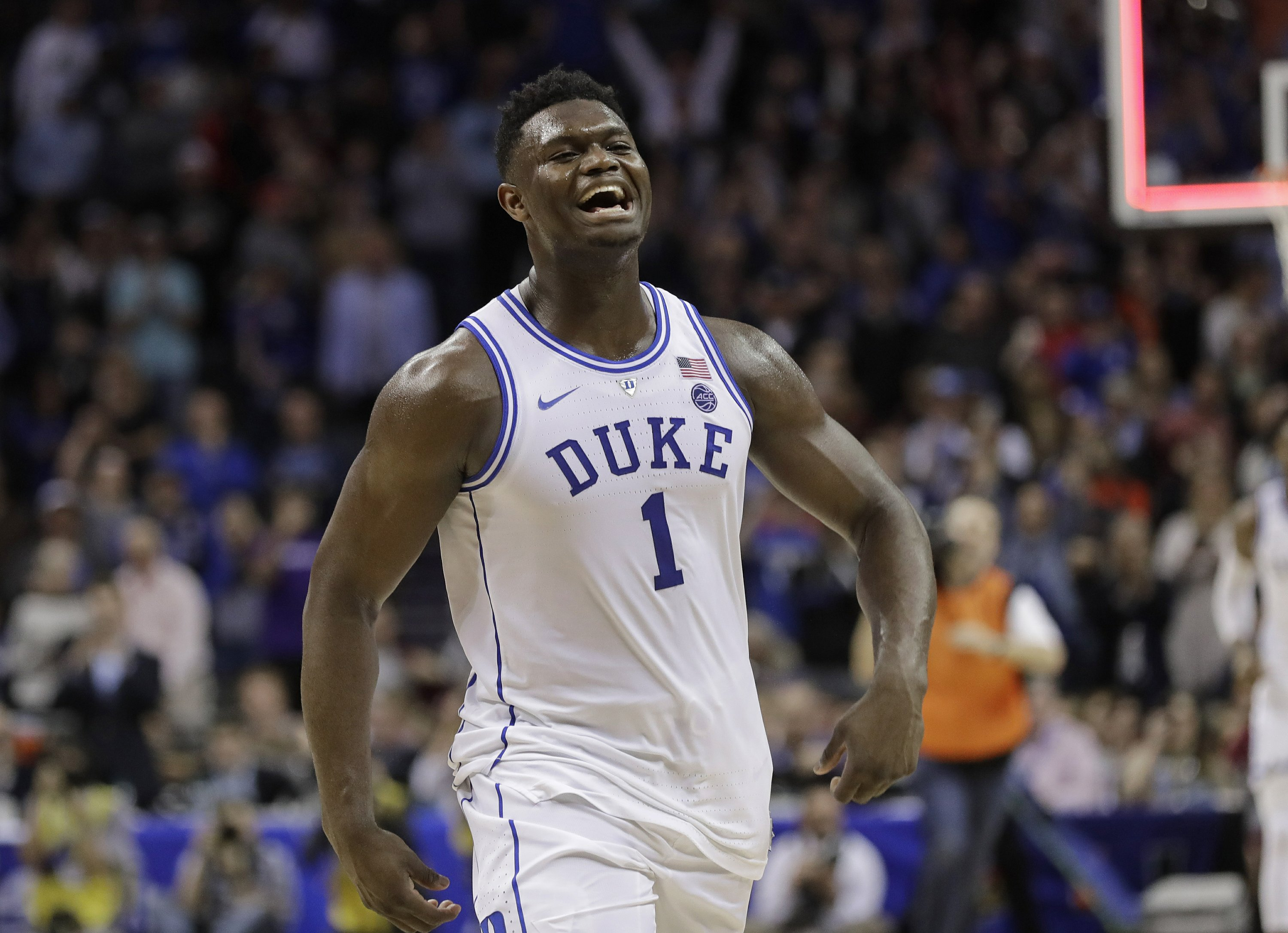 Glass Sneaker Stopping Zion The Key To March Madness
