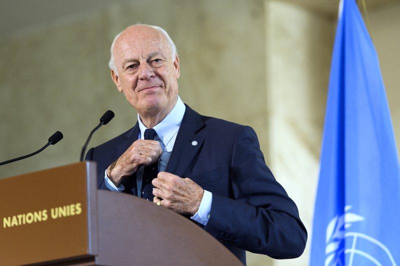 UN Syria envoy tells Russia: Leave Aleppo corridors 'to us'
