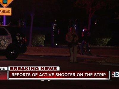 Las Vegas Police: 1 Suspect Down, Dozens Shot