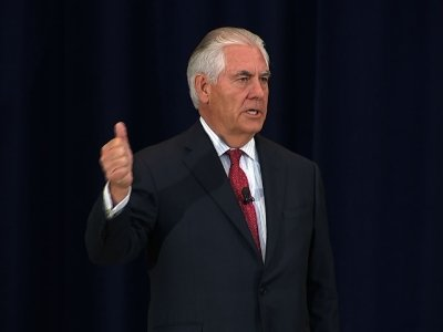 Tillerson Calls for Separating US Policy, Values