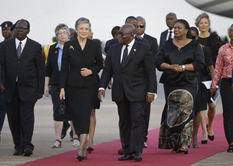 Nane Annan, Nana Addo Dankwa Akufo-Addo, Rebecca Akufo-Addo