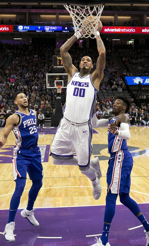 Ben Simmons, Willie Cauley-Stein, Robert Covington