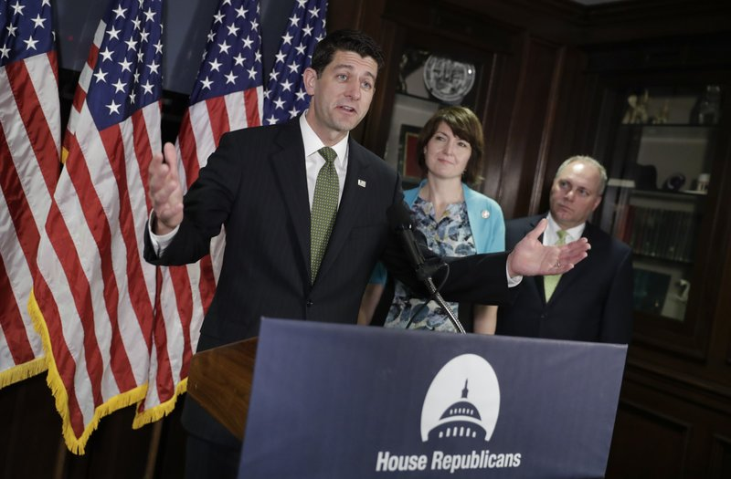 Paul Ryan, Steve Scalise, Cathy McMorris Rodgers