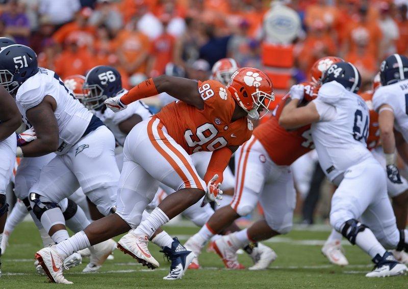 Bama-Clemson loaded with NFL draft picks along D-line