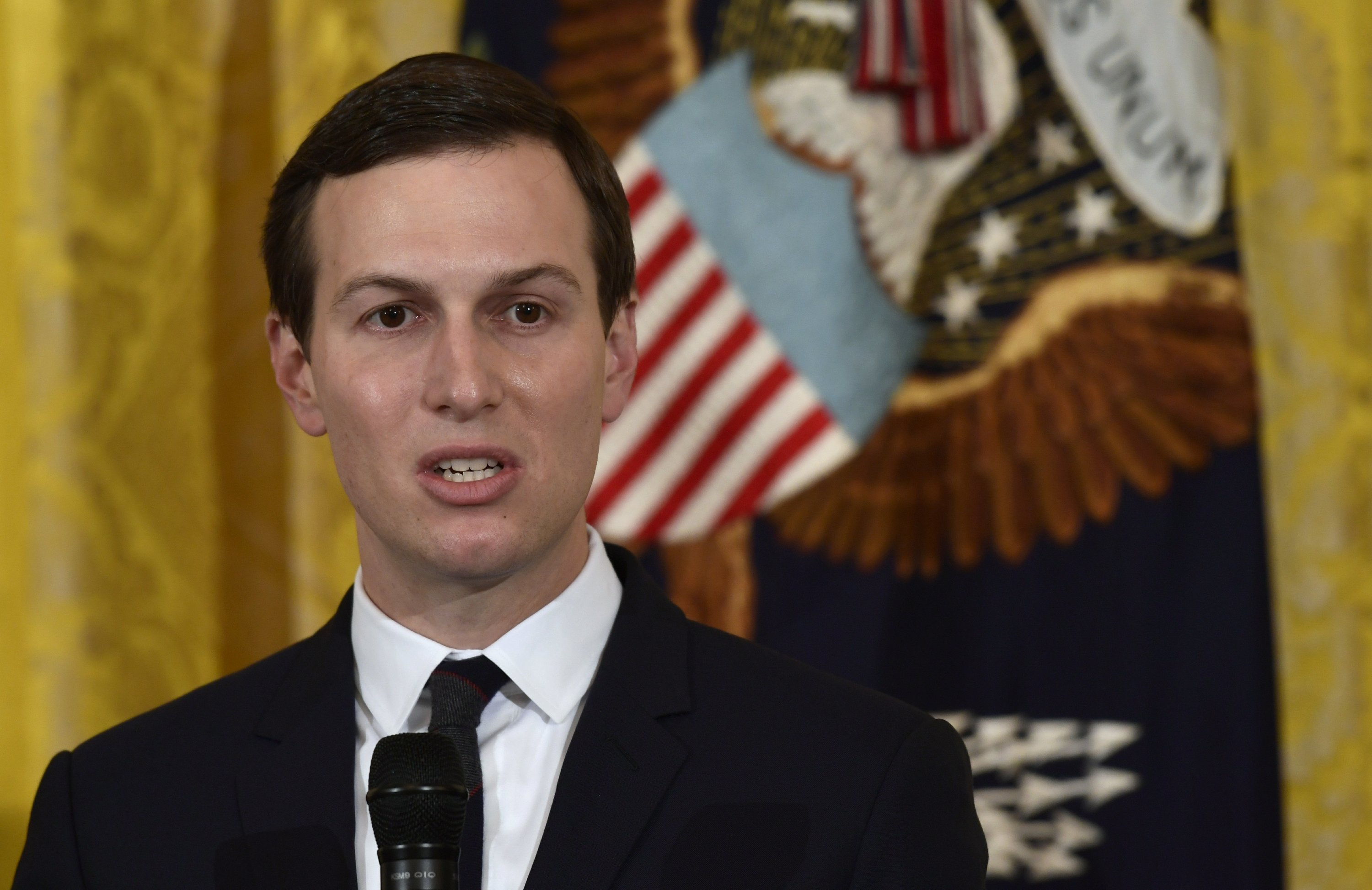 Kushner given security clearance after background check