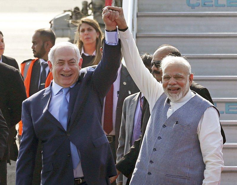 Benjamin Netanyahu, Narendra Modi