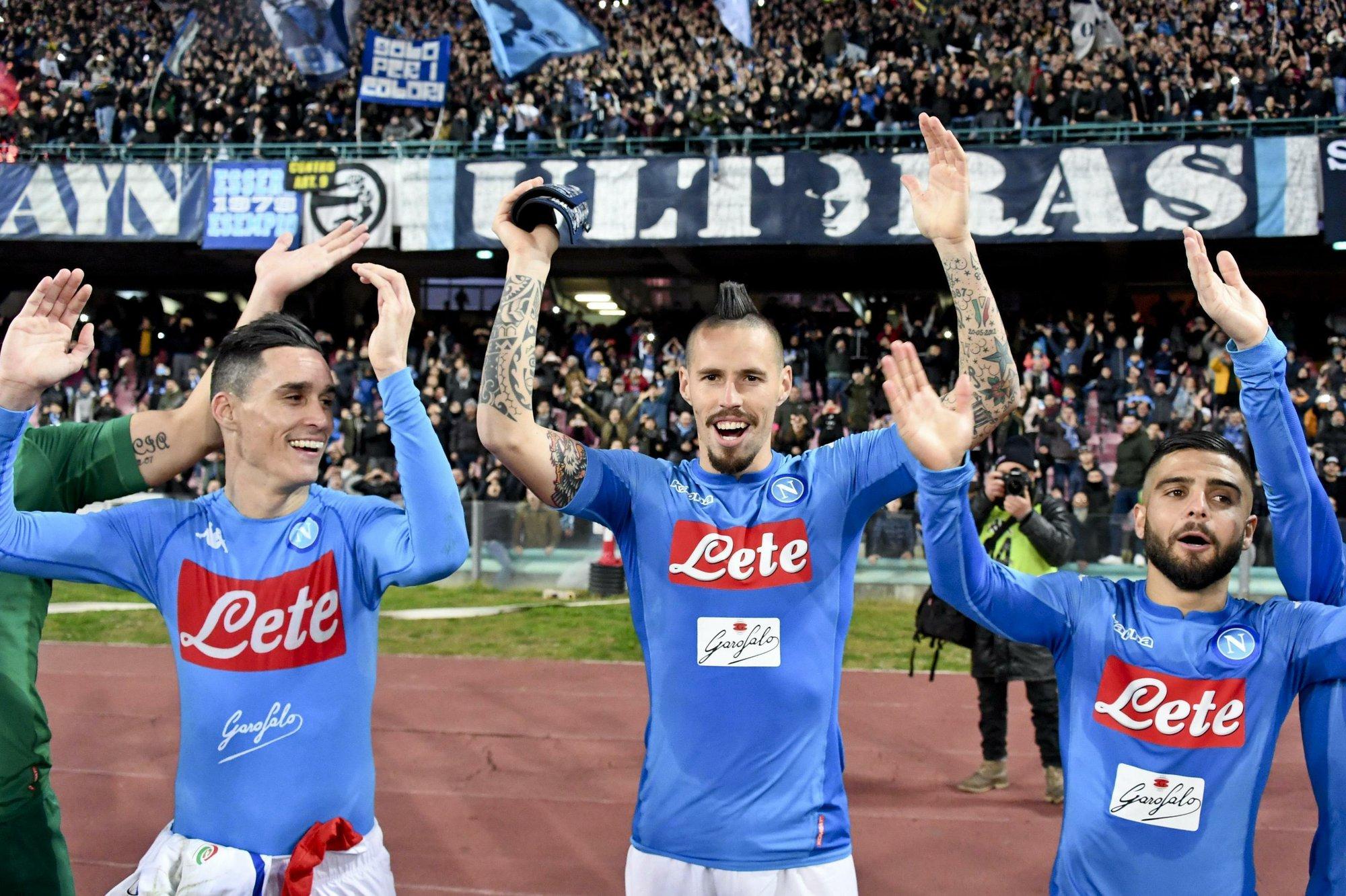 Récord de Hamsik y Napoli conserva liderato en Serie A 62c3b1c86e8b2