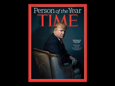 Trump is Time Magazine's Person of the Year