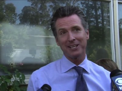 Calif. Lt. Gov. Newsom Vies For Top Spot