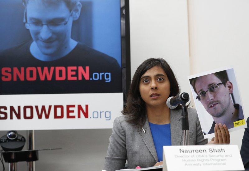 Edward Snowden, Naureen Shah