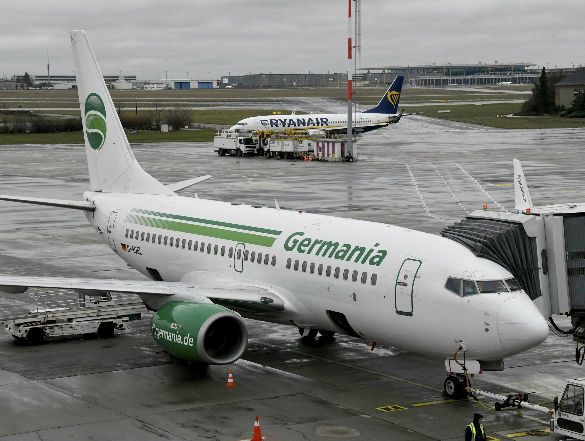 German airline Germania files for insolvency, grounds planes