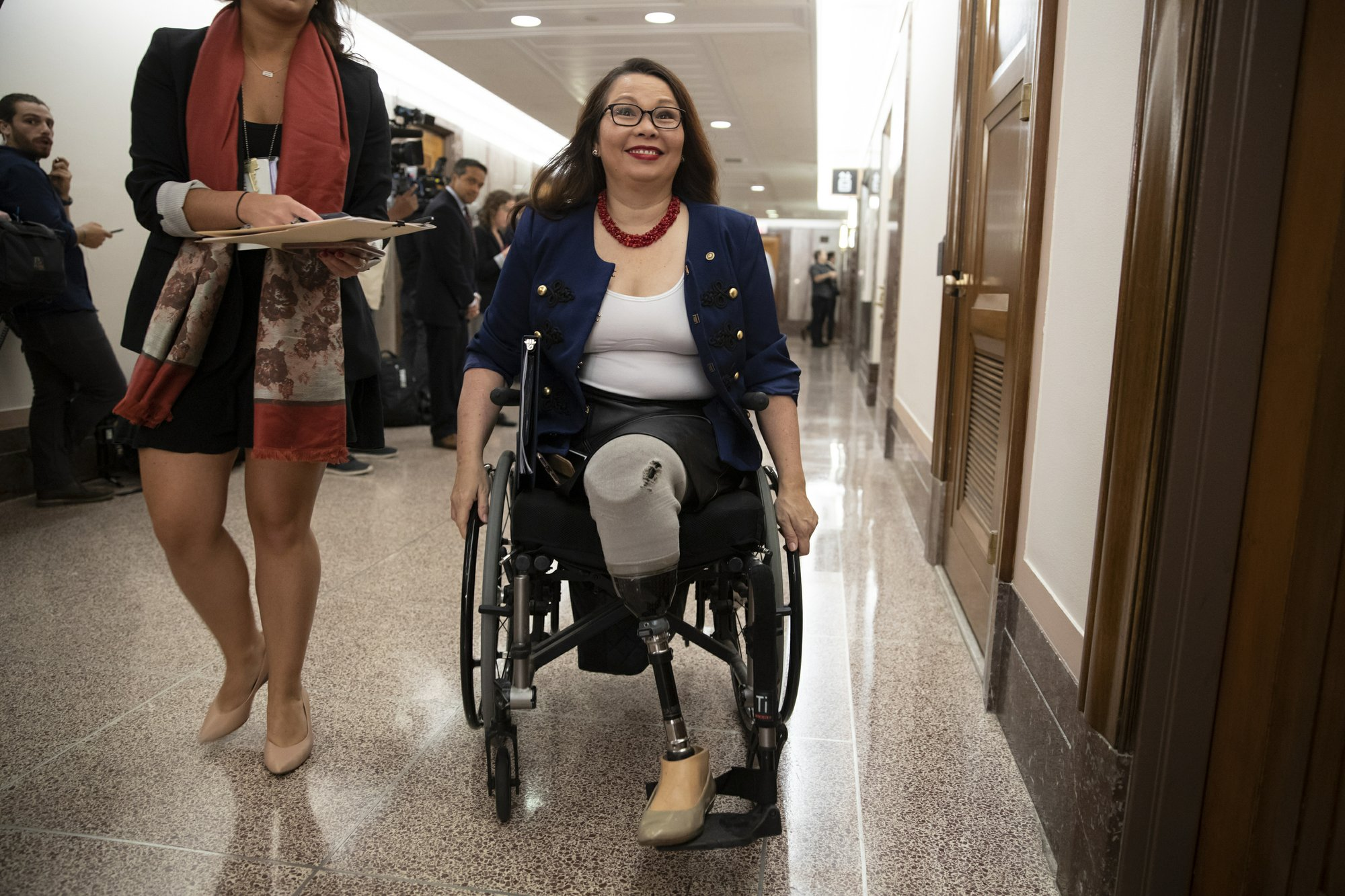 Duckworth returns to Iraq for 1st time since being shot down