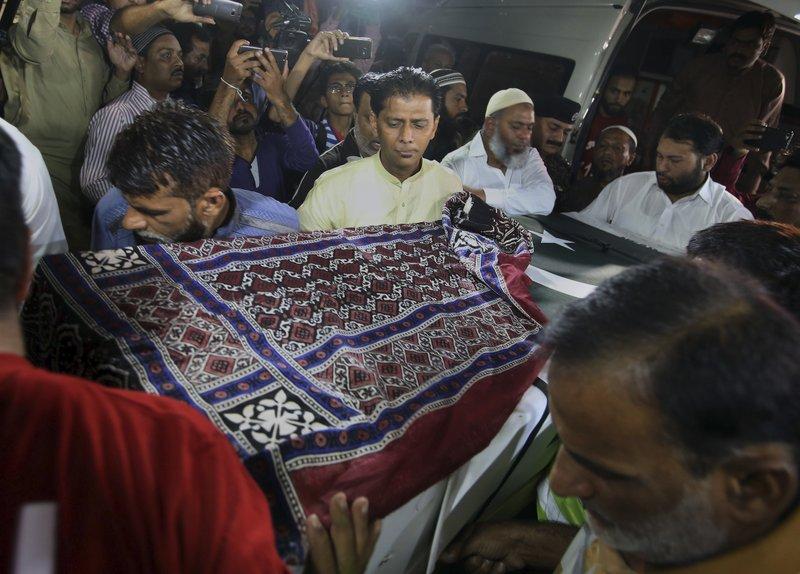 Body of Pakistani killed at Texas school arrives in Karachi