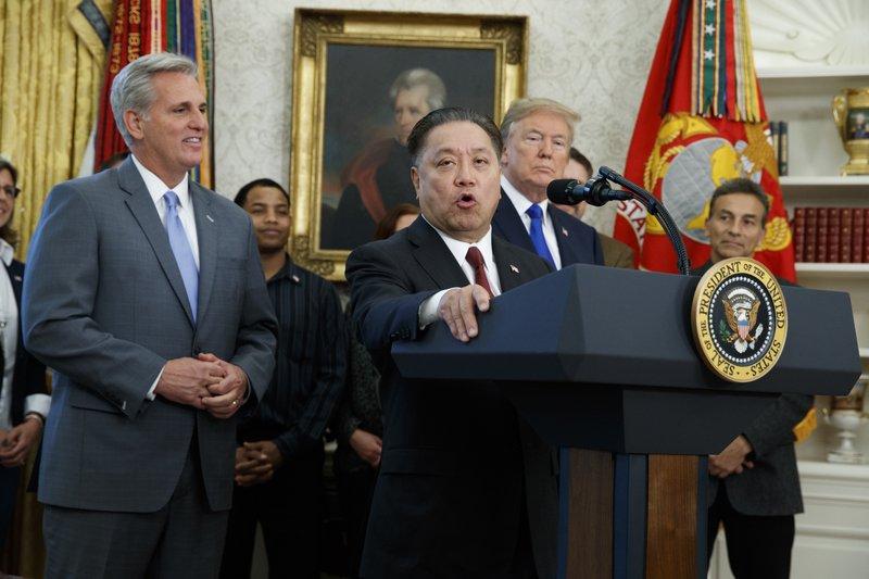 Donald Trump, Kevin McCarthy, Hock Tan