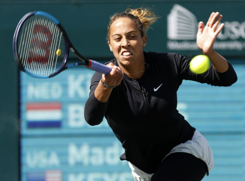 Madison Keys, Kiki Bertens