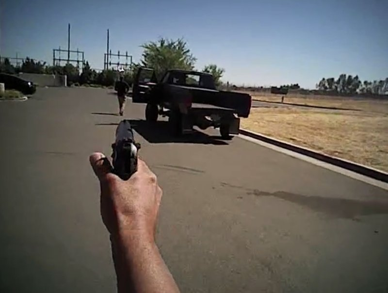 In video, man ignores police demands and is fatally shot